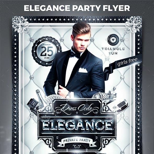 Elegance Party Flyer