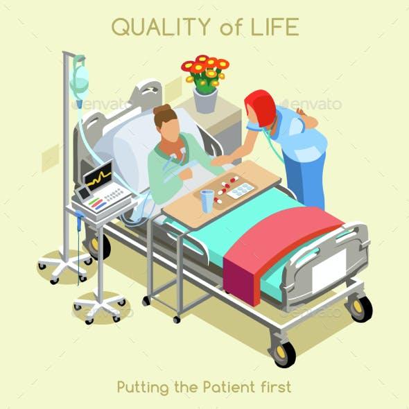 Patient Visit Isometric