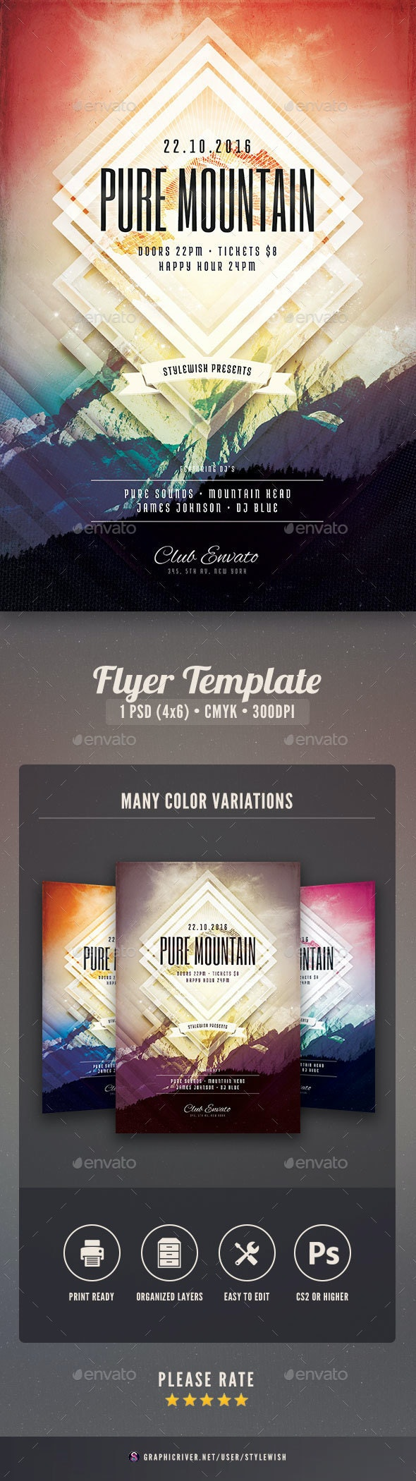 Pure Mountain Flyer - Concerts Events