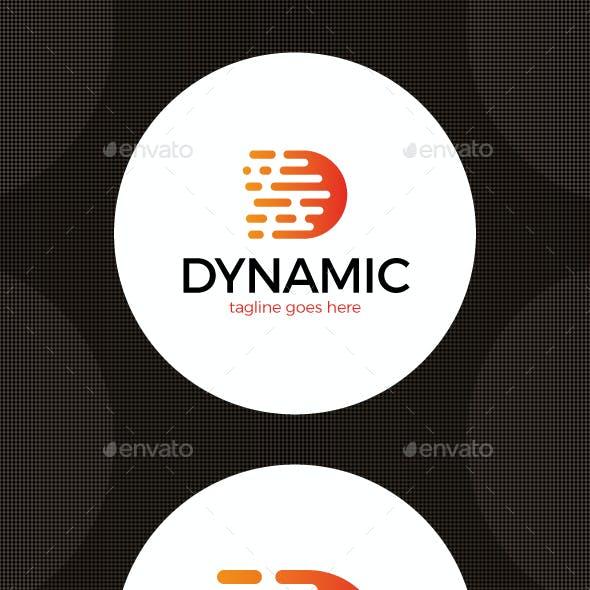 Letter D logo