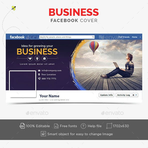 General and Likes Facebook Timeline Covers from GraphicRiver (Page 6)