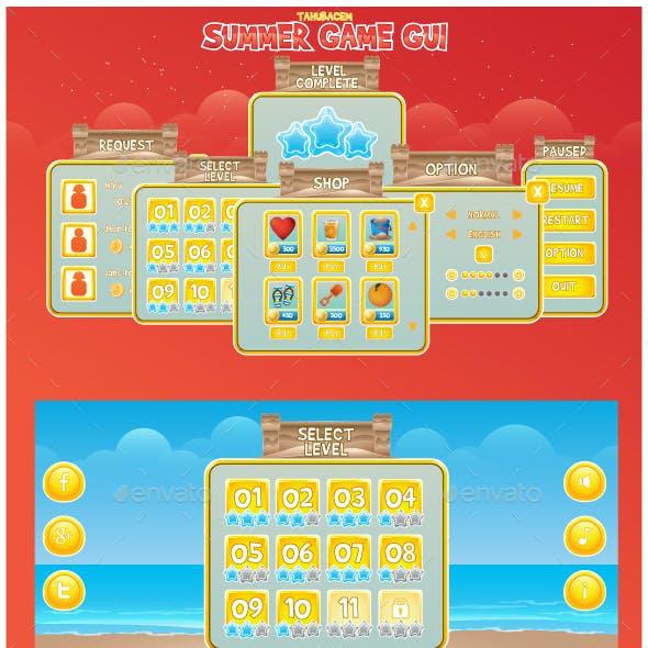 Summer Game GUI
