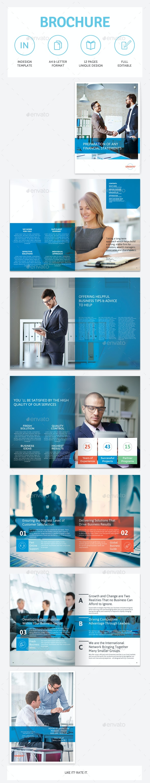 Business Brochure vol.24 - Brochures Print Templates