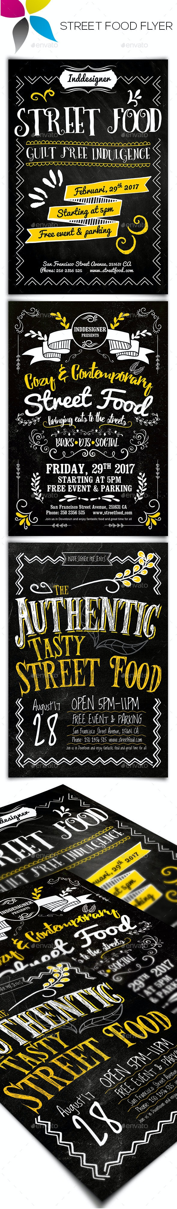Street Food Flyer - Restaurant Flyers