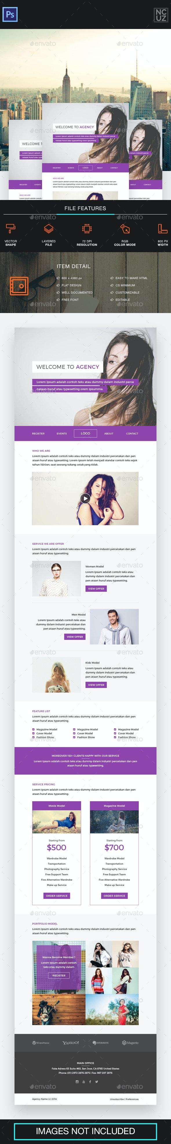 Model Agency E-newsletter
