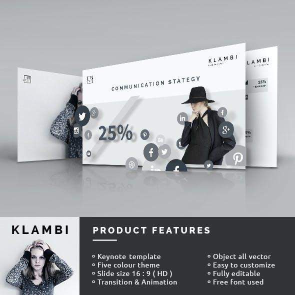 Fashion Keynote Template
