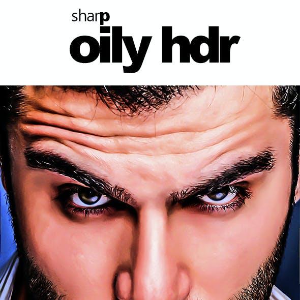 Sharp Oily HDR