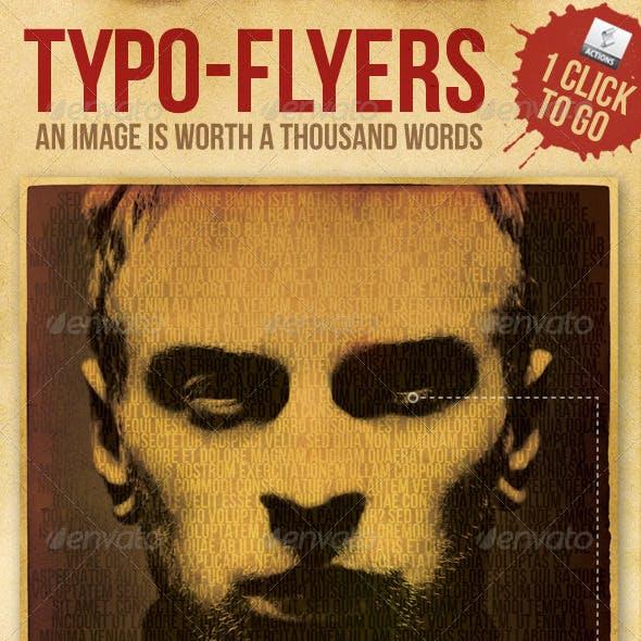 Typo Flyer