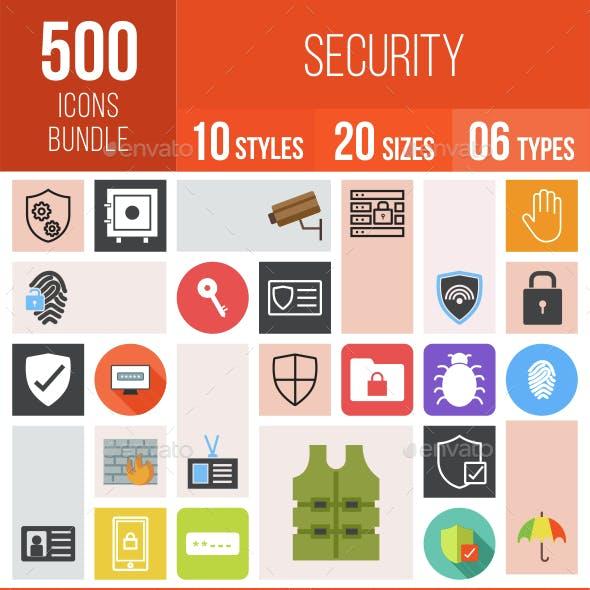 500 Security Icons Bundle