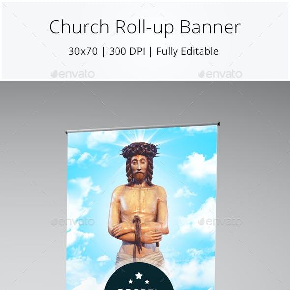 Church Rollup Banner