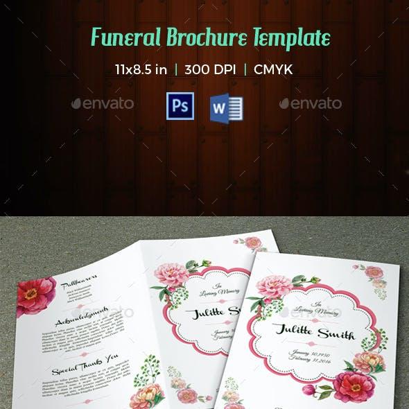 Funeral Program Template-V10