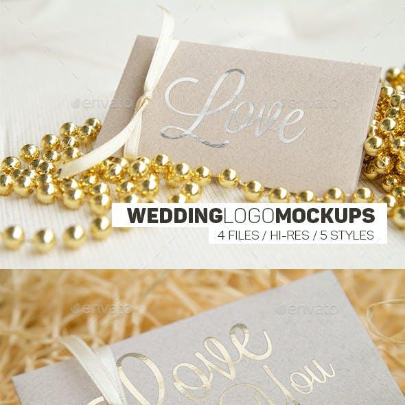 Wedding Logo Mockups I