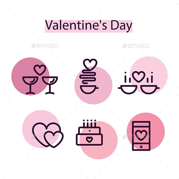 Super Set Icons Valentine's Day