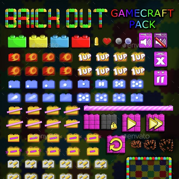 Brick Out - Game Assets