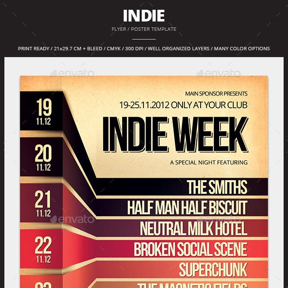 Indie Flyer / Poster