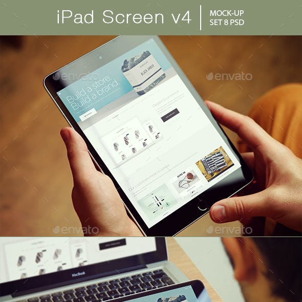 iPad Screen Mockup v4