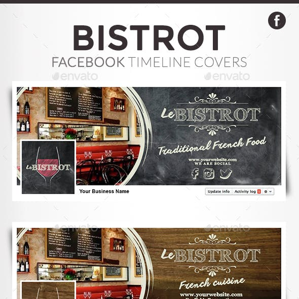 Facebook Timeline Covers - Bistrot