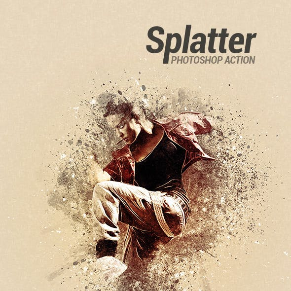 Splatter - Photoshop Action