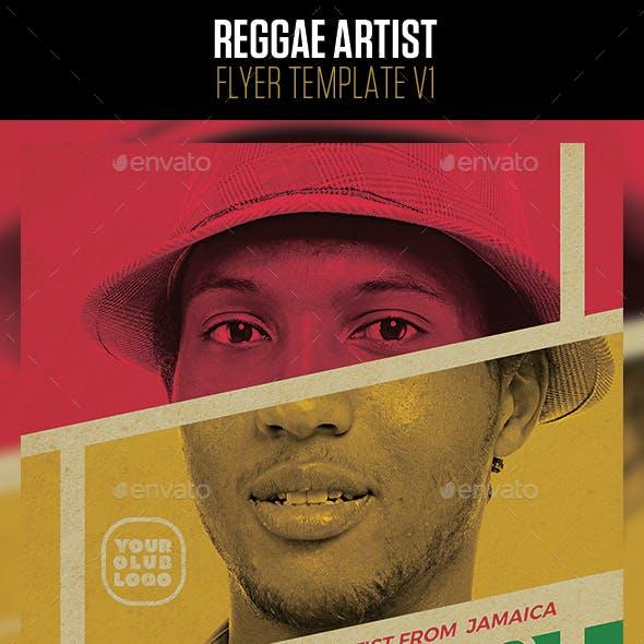 Reggae Artist Flyer v1