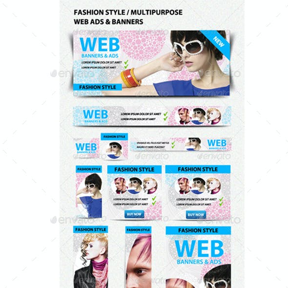 50 Web Ads-Banners Bundle