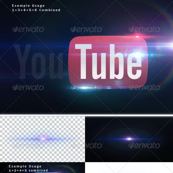 6 Unique Lens Flares - Light Effects -3-