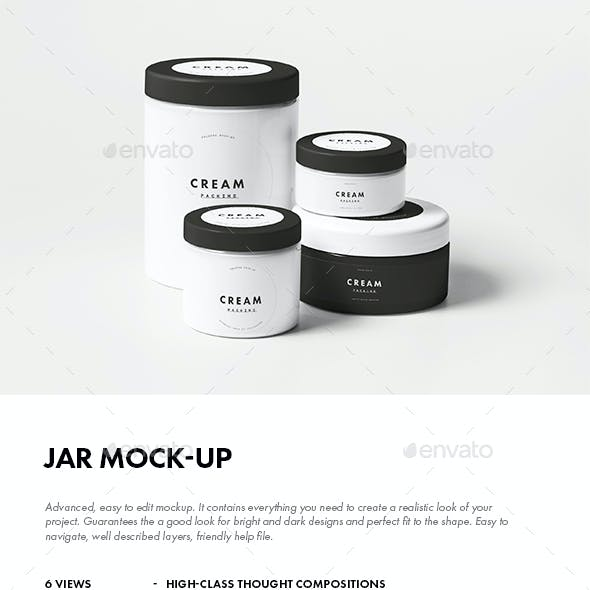 Jar Mock-up