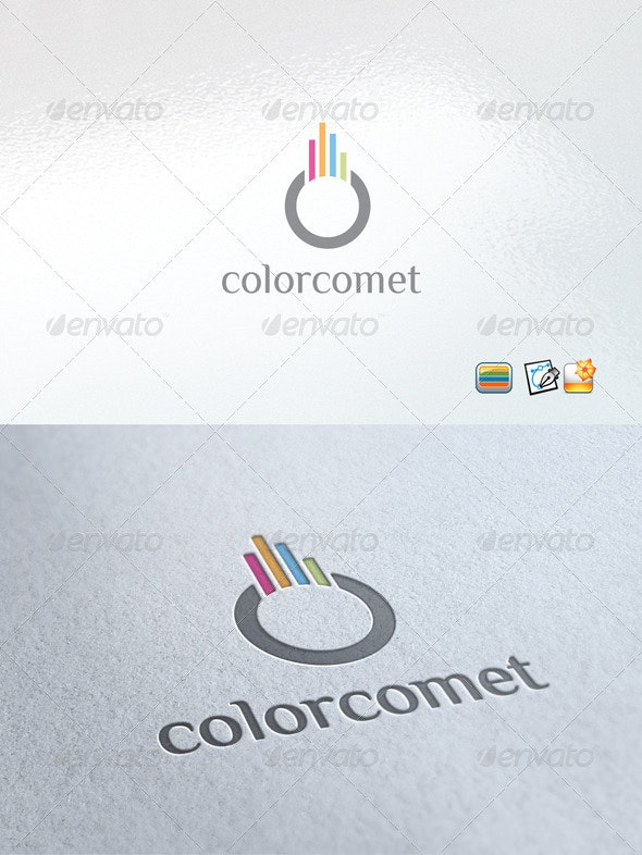 Colorcomet - Objects Logo Templates