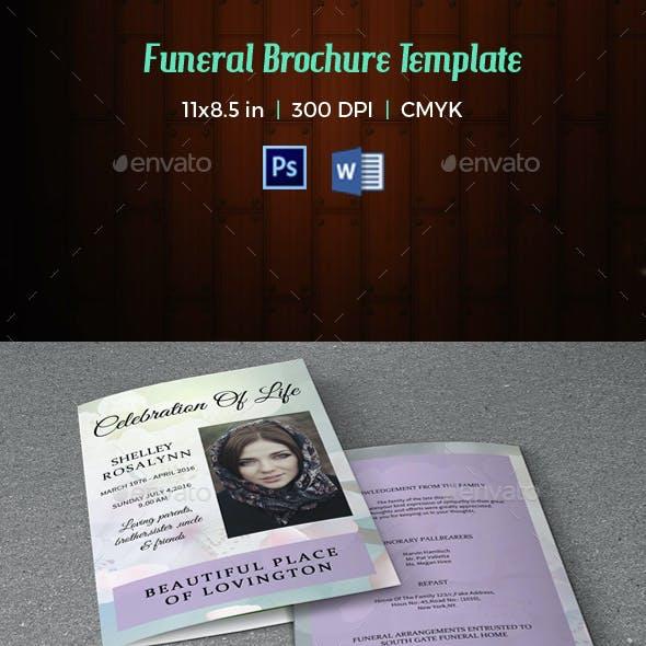 Funeral Program Template-V11