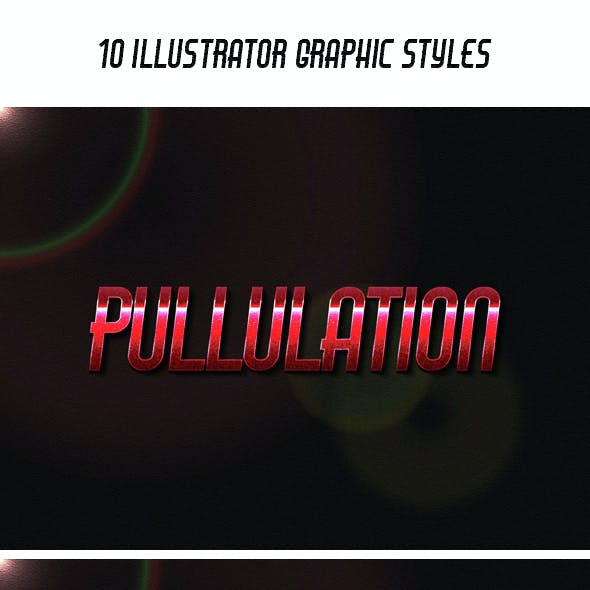10 Illustrator Graphic Styles Vol.01