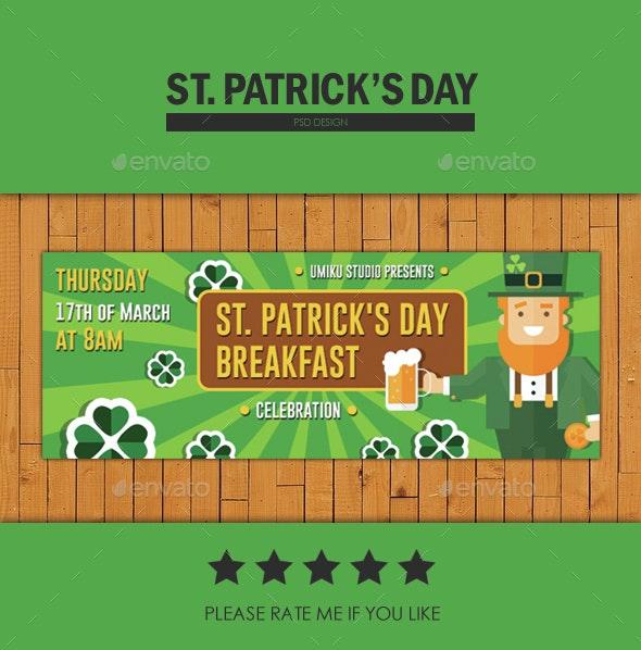 St. Patrick's Day Breakfast - Facebook Timeline Covers Social Media