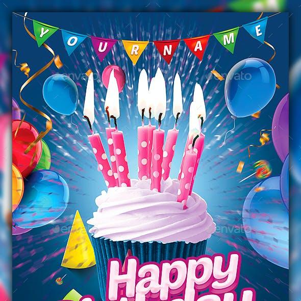 Kids Birthday Flyer / Kids Party Flyer