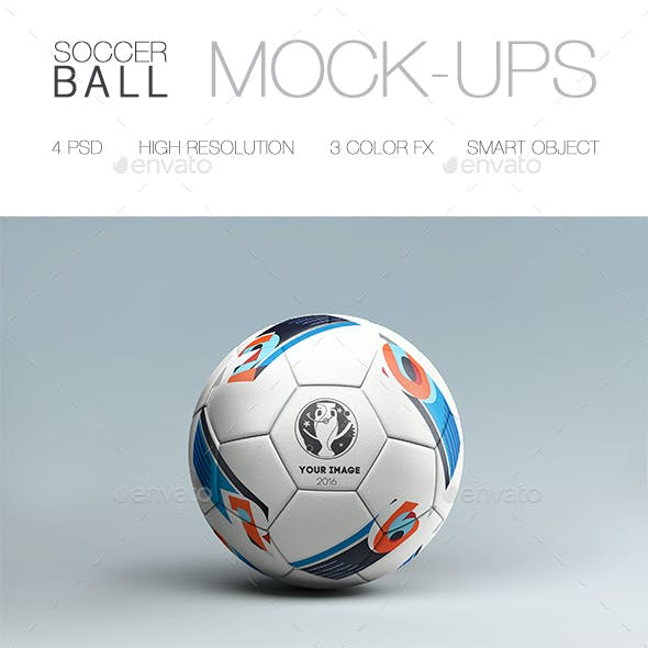 Soccer Ball Mock-up