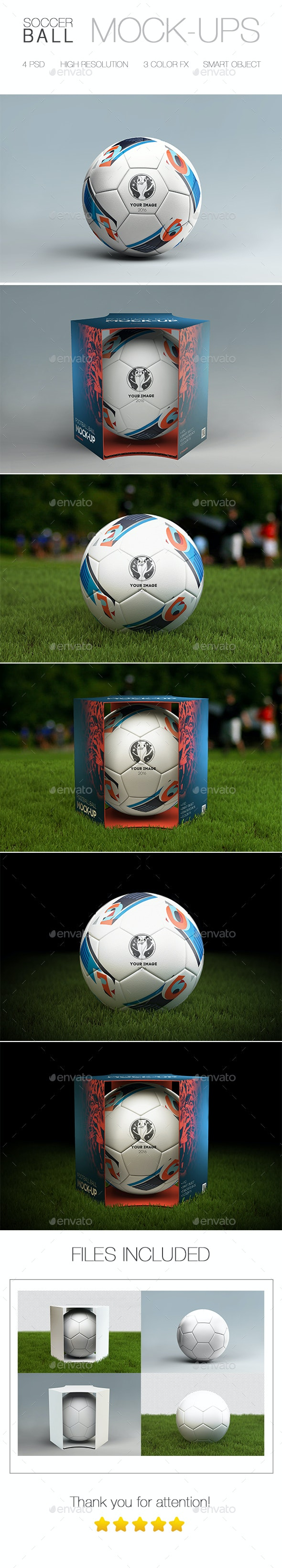Soccer Ball Mock-up - Miscellaneous Print
