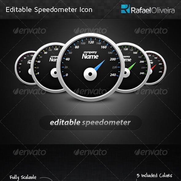 Editable Speedometer