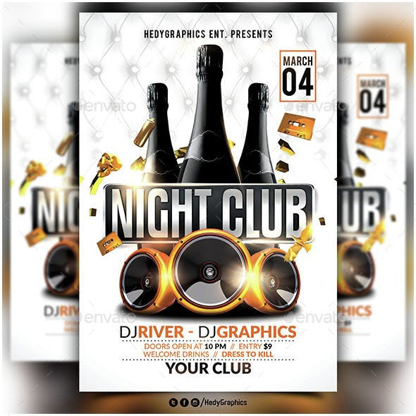 Night Club - Flyer Template