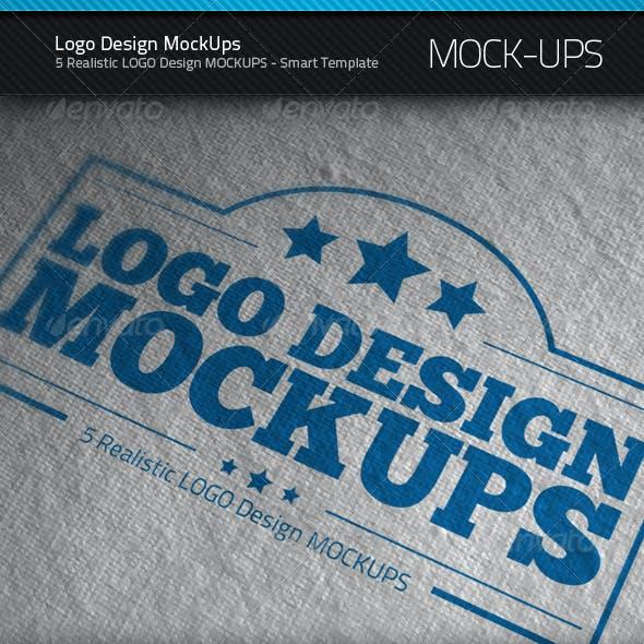 Logo Design MockUps