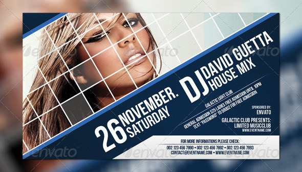 Digitalize Flyer Template - Clubs & Parties Events