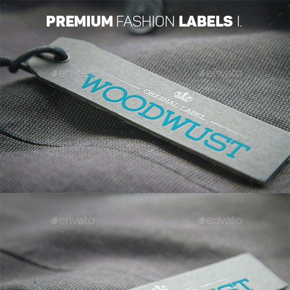 Premium Fashion Labels Mockup I