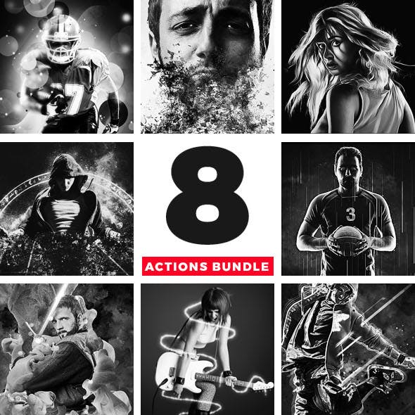 8 Actions Bundle