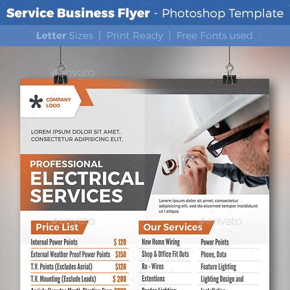 Service Business Flyer V18