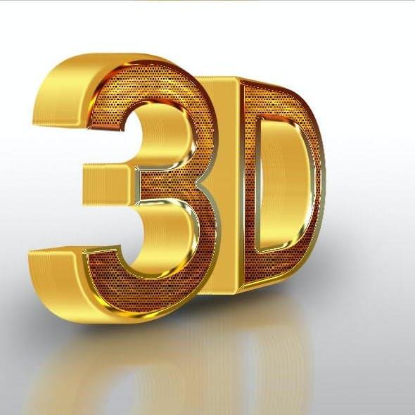 10 3D Text Styles