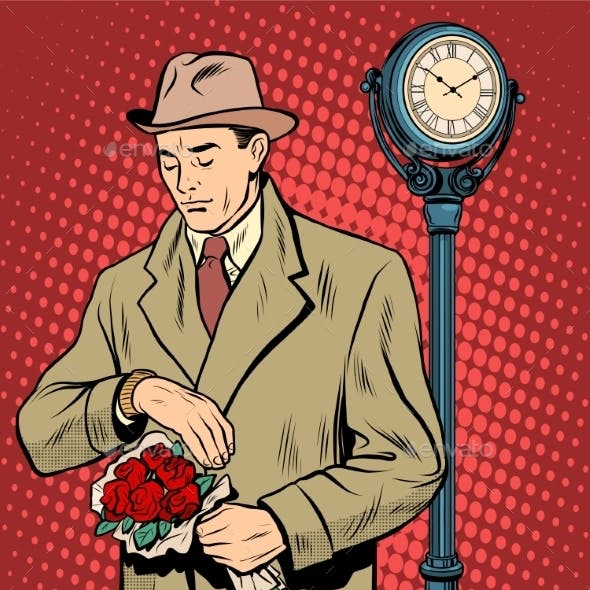 Dating Love Time Watch Man