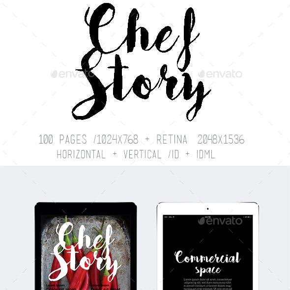 Tablet & Ipad Chef Story Magazine