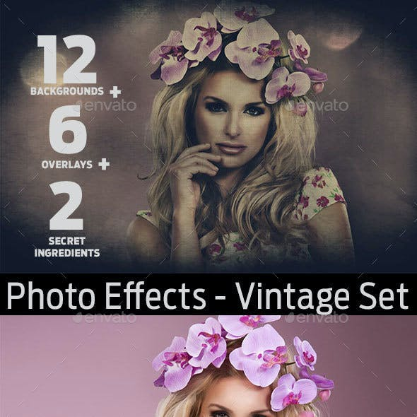 Photo Effects - Vintage Set