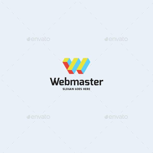 Webmaster • Letter W Logo Template