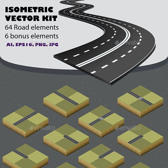 Road Map Kit  Isometric