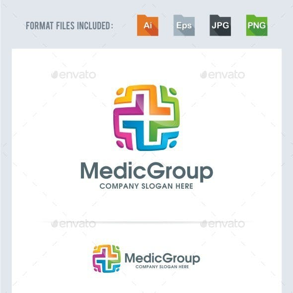 Medical Group Logo Template