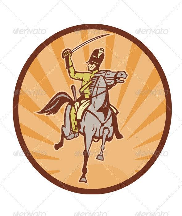 British Cavalry Hussar Light Horseman - People Characters