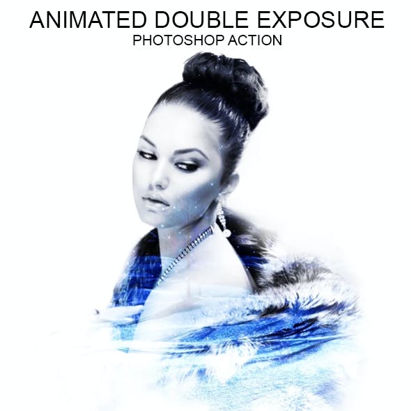Animated Double Exposure - Ps Action