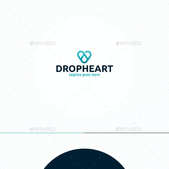 Drop Heart Logo